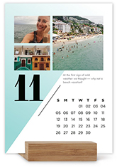 Modern Months Easel Calendar By Yours Truly Shutterfly