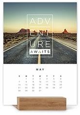 photo gallery easel calendar