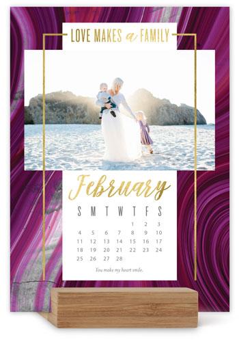Stunning Marble Easel Calendar
