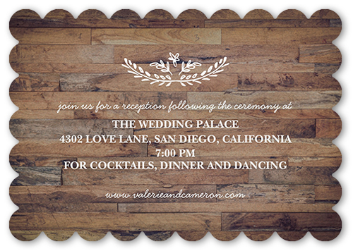 Love And Laughter Forever Wedding Enclosure Card By