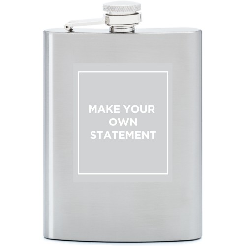 Make Your Own Statement Flask