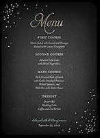 splendid statement wedding menu