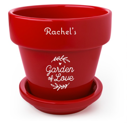 Garden Of Love Flower Pot