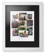 gallery collage of nine framed print