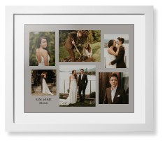 gallery collage of six framed print