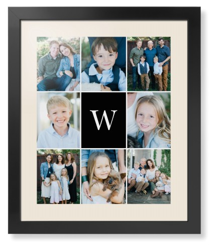 Gallery Monogram Framed Print