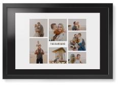 gallery of seven framed print