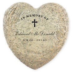 treasured memory garden stone