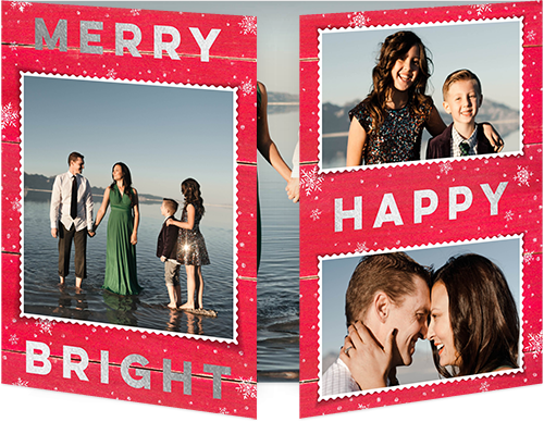Remarkable Statement Christmas Card