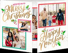 colorful christmas gallery christmas card