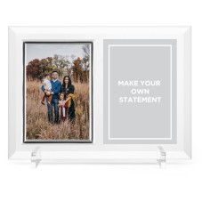 make your own statement glass frame