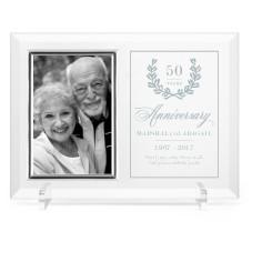 forever love glass frame