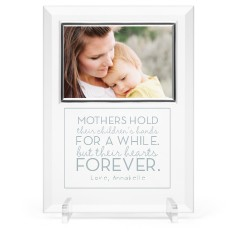 a mothers love glass frame