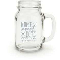 home sweet home mason jar