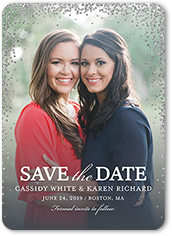 Christmas Save The Date Cards.Merry Christmas Save The Date Cards Save Upto 50 Shutterfly
