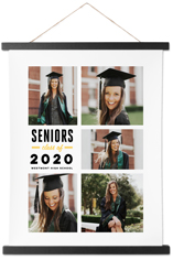 class of hanging canvas print