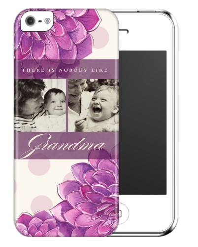 There Is Nobody Like You iPhone Case, Slim case, Glossy, iPhone 5/5S, Purple