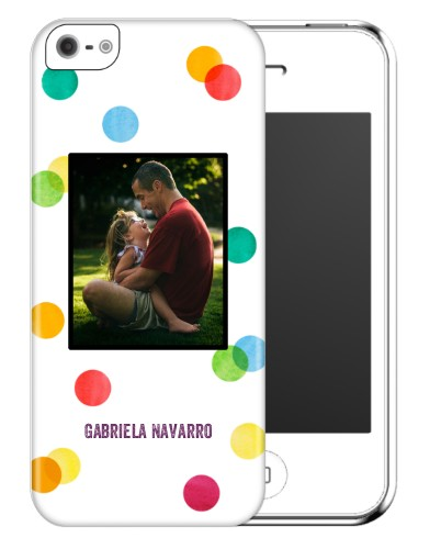 Confetti Dots iPhone Case