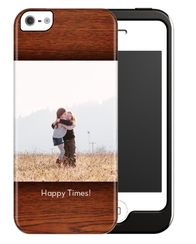 Woodgrain iPhone Case