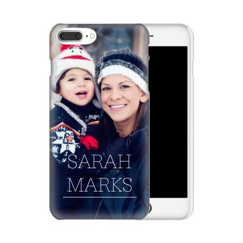 Simply Personal iPhone Case, Slim case, Matte, IPhone 7 Plus, White