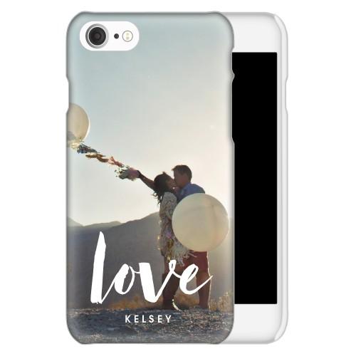 Love Script iPhone Case