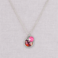 silver anjalee necklace