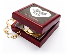 best mom rustic keepsake box