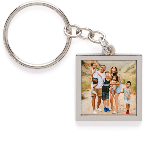 pewter photo keychain and photo keyring shutterfly shutterfly