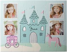 princess castle kids puzzle