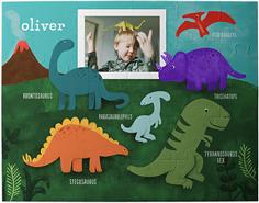 dinosaur party kids puzzle
