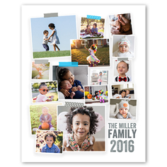 Poster Size 8x10 Collage Posters Photo Posters Shutterfly