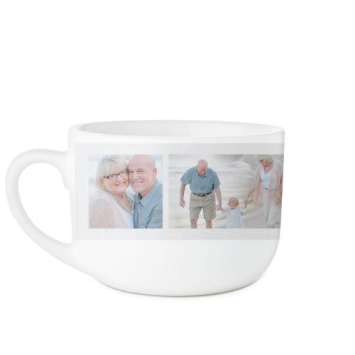 Grandma's Happiness Latte Mug, White,  , 25oz, Pink