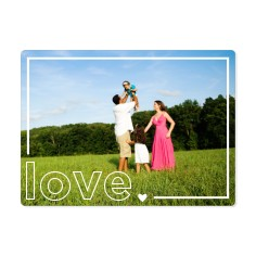 boxed in love magnet