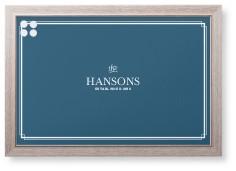 blue framed magnetic boards shutterfly