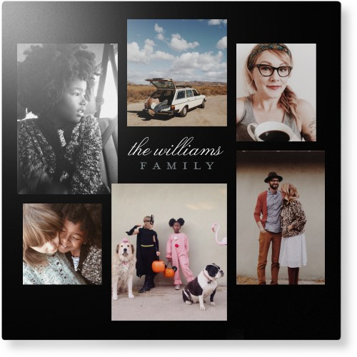 Photo Gallery of Six Metal Wall Art, Single piece, 12 x 12 inches, True Color / Matte, Multicolor