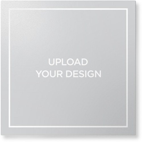 Upload Your Own Design Metal Wall Art, Single piece, 16 x 16 inches, True Color / Matte, Multicolor