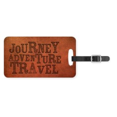 well traveled journey luggage tag