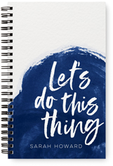 contemporary lets do this thing monthly planner