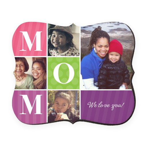 Mom Color Blocks Mouse Pad