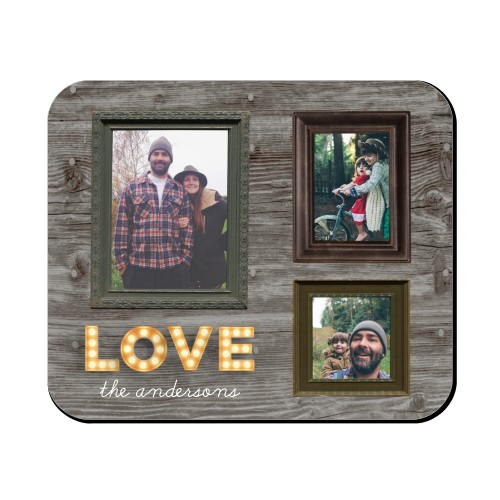 Photo Real Love Mouse Pad