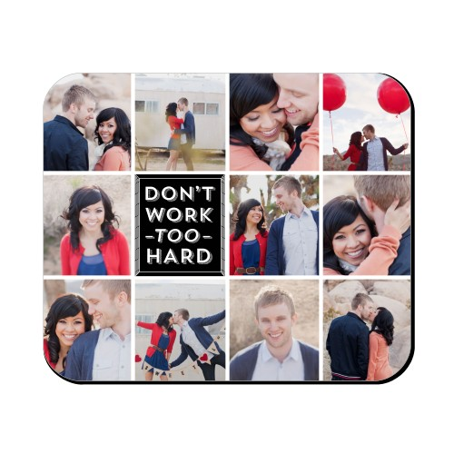 hard work mouse pad custom mouse pads shutterfly