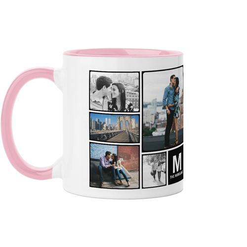 Pictogram Mug, Pink,  , 11oz, DynamicColor