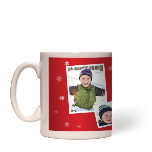 Snowflakes All Around Mug
