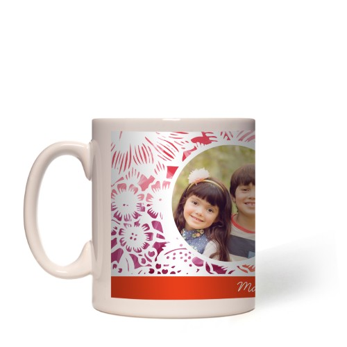 Encaje Floral Mug