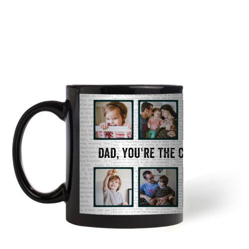 Newsprint Mug