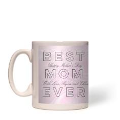 Best Mom Marbleized Mug