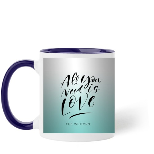 All You Need Is Love Ombre Mug