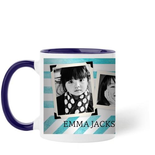 Watercolor Stripes Mug