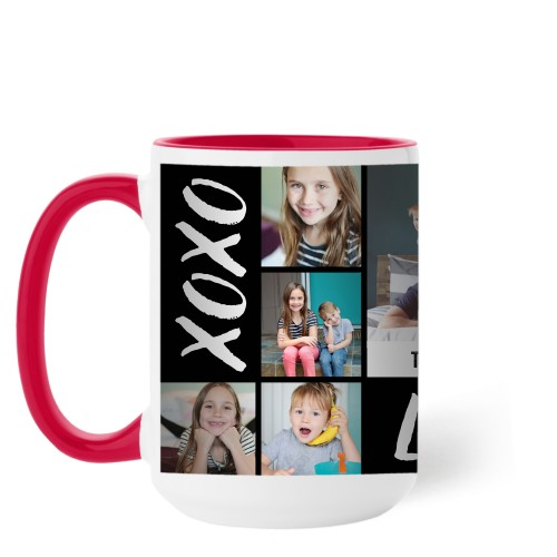 XOXO Love Grid Mug