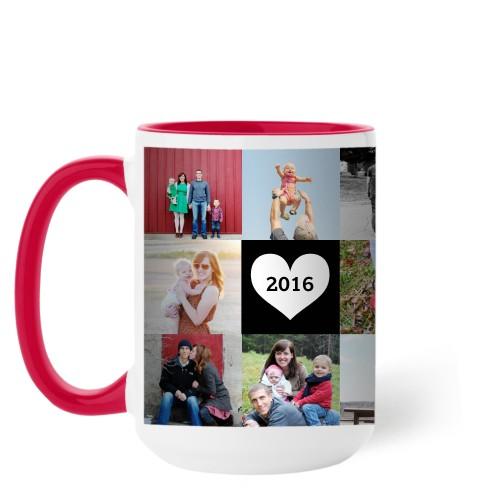 Love Grid Mug